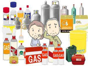 ガスボンベ・ガス管の処分